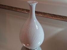 Korean Gorgeous White Glazed Celadon For Flower Arrangement Bamboo Motif #10