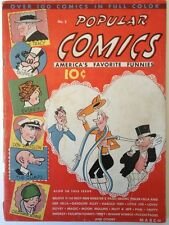 Popular Comics 2, March 1936, Dell Publishing