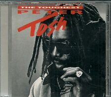 CD ALBUM 11 TITRES--PETER TOSH--THE TOUGHEST--1988