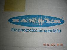 Banner Laser Displacement Sensor  LG5B65PU w/30