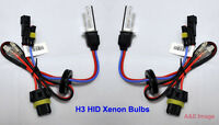 H3 8000K 35W HID Xenon Replacement 2 Bulb for Headlight Head lamps Light Blue