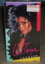 LaToya Jackson (VHS) NEW Live Concert Performance