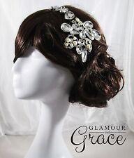Alexis Vintage wedding pearl crystal headband hair accessory headpiece RRP $130