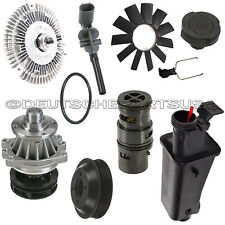WATER PUMP PULLEY FAN CLUTCH BLADE EXPANSION TANK OIL THERMOSTAT for BMW E53 X5