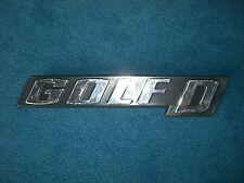 Emblem / Badge Volkswagen Golf D Diesel, ca. 17 cm lang, 3 Befestigungsstifte
