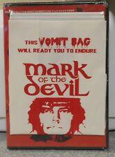 Mark of the Devil (DVD, 2012, Yack Pack) RARE W / VOMIT BAG 1970 FILM BRAND NEW