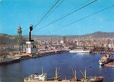 BR84467 barcelona puerto y transbordador spain ship bateaux