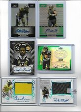 D'ANDRE SWIFT SIGNED 2017 LEAF METAL U.S ARMY BOWL ON CARD AUTO #D /15 GEORGIA