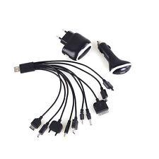 Ladekabel Verbindungskabel 220V 12V Multi Handy-Ladegerät 14in1 USB Kabel