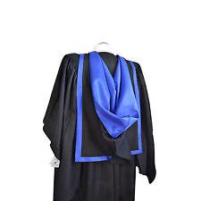 Graduation Complet Forme Capuche Bleu Royal Université Diplômés Maîtres Academic