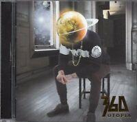 360 - Utopia (2014 CD) Australia Deluxe Edition - 3 Extra Tracks (New)