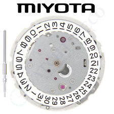 Original Miyota 9015 Movement Made in Japan - 3 Hands, Date at 3 and EXTRA parts