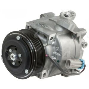 98496 4-Seasons Four-Seasons A/C AC Compressor New for Chevy With clutch Sonic