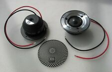 MOREL SUPREMO PICCOLO v2 HIGH-END TWEETERS, BRAND NEW PAIR, BIRTHSHEET, WARRANTY