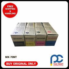 New & Original SHARP MX-70NT VALUE PACK TONER CARTRIDGE