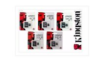 Microsd Kingston SDHC 4GB 8GB 16GB 32GB classe 10 con Adattatore SD memoria cell