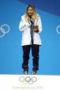 NWT WOMENS NIKE USA WINTER OLYMPICS CHLOE KIM GORE-TEX JACKET $600 M white