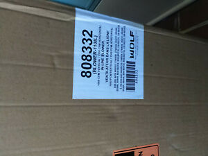 Wolf 808332 1000/1100 cfm blower-