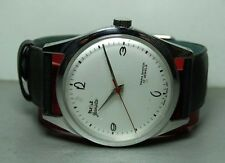 Vintage Hmt Janata Winding 17 Jewels Mens Watch Old Used Antique P872