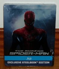 THE AMAZING SPIDER MAN-STEELBOOK-BLU-RAY-NEUE-NEW-OVP-SEALED-SPANISCH