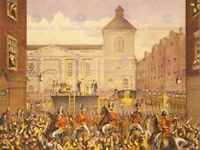 PAINTING DRAW EXECUTION IRISH PATRIOT ROBERT EMMET REPUBLICAN PRINT CC1098