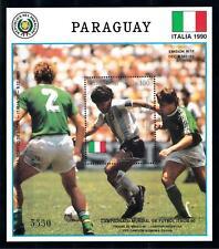 [72661] Paraguay 1989 World Cup Football Soccer Maradonna Souvenir Sheet MNH