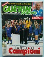 GUERIN SPORTIVO N. 22 DEL 1996 VITTORIA COPPA DEI CAMPIONI DEL PIERO JUVE