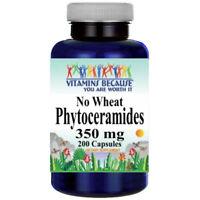 Phytoceramides 350mg ***NO WHEAT*** 200 Caps From Sweet Potato ***Gluten FREE***