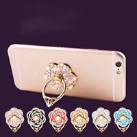 Universal Phone Diamond Rose Flower Finger Ring Holder For Phone  RDR