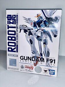 Gundam F91 Action Figure Evolution-Spec Gundam Robot Spirit Bandai