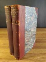 1896 Charles Darwin Animals & Plants under... 2 volumes Authorized Ed Appleton