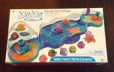 Brand New XIA-XIA Xia Xia Rio de Trio Village 3 Room Habitat Play Set