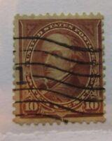 1898 United States SC #282c Webster used stamp
