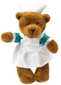 Stofftier Plüschtier Kuscheltier Teddybär Bär Krankenschwester, Pflege, Medizin