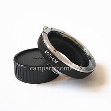 Canon EOS EF Lens To Leica M LM Adapter M5 M6 M7 M8 M9 ME240 TECHART LM-EA7 cap