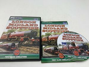 LONDON MIDLAND SCOTTISH Pc Add-On Expansion Pack Microsoft Train Simulator MSTS