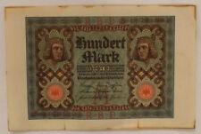 Billet allemand de 100 mark - 1-novembre 1920 - Très bon état