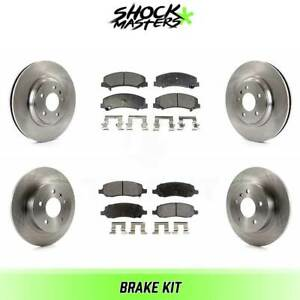 New S.Y.L Ceramic Rear Brake Pads D1172C For Buick /& Cadillac 2006-2011