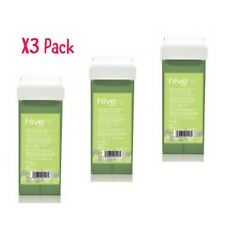 X 3 Hive OF Beauty Tea Tree Creme cera a rullo Cartuccia Con Grande Testa Fissa 100g