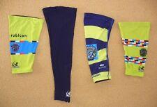 Lot of Four (4) CYCLING LEG SLEEVES Knee Warmer Biking SIZE XL Sugoi JL Racing