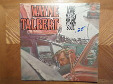 WLP PROMO PULSAR LP RECORD/WAYNE TALBERT/LORD HAVE MERCY ON MY FUNKY SOUL/ EX