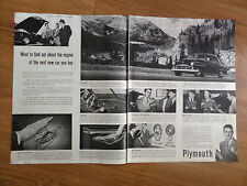 1951 Plymouth Ad  How to find Out about the Engine of the Next Car You Buy