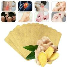 10Pcs Foot Detox Sticker Pad Ginger Extract Toxin Removal Weight Loss Patch V1A6