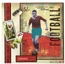 Grußkarte Herren Herrenkarte Hobby Sport Fußball Handarbeit Hunkydory NEU