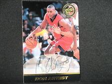 Ron Artest 1999 Press Pass Autograph Rookie Los Angeles Lakers St Johns Pacers