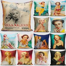 Fashion  Sexy Beauty Pillowcases Living Room Throw Cushion Cases Cushion Cover