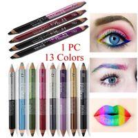 yeux pigments fluo des paillettes crayon pour les yeux l'ombre à paupière pen
