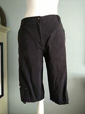 Jamie Sadock Shorts Black RN92499 Zipper and Clip Pockets Size 4