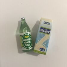 Sylvanian Families Calico Critters Supermarket Replacement Soy Milk and Water