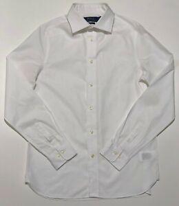 Ralph Lauren Womens Shirt White Formal White Pony Embroidered Genuine Garment